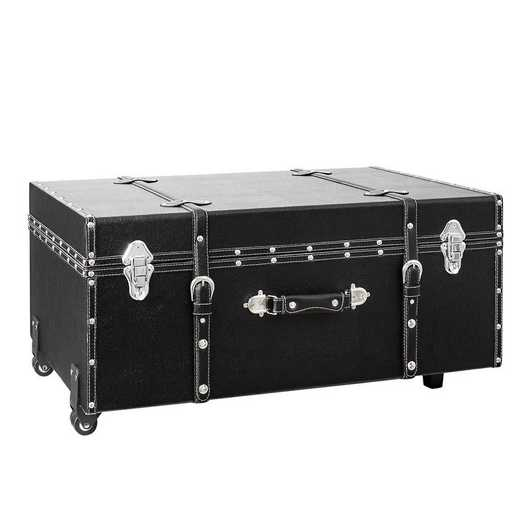 BUCK2-E-11124: The Sorority College Dorm Trunk - Black