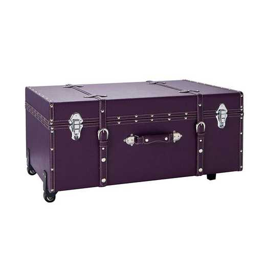 BUCK2-E-SCDPURP: The Sorority College Dorm Trunk - Downtown Purple
