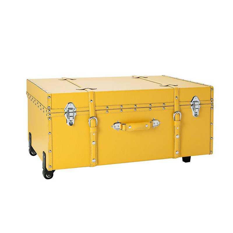 BUCK2-E-11124BLI: The Sorority College Dorm Trunk - Golden Yellow