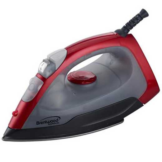 BW-MPI-54-RED: DormCo Steam - Dorm Dry Spray Iron - Red
