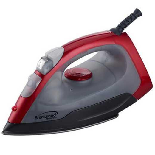 BW-MPI-54-RED: DormCo Steam - Dorm Dry Spray Iron - Red