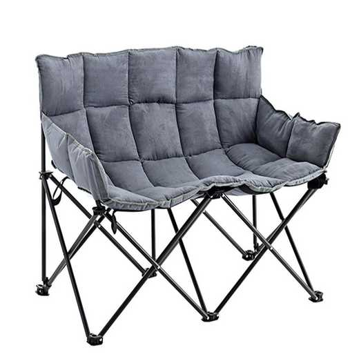 TSDS-ALY: Two-Seater Dorm Sofa - Alloy