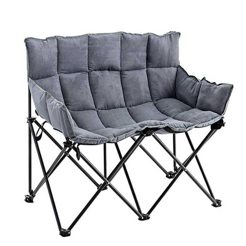TSDS-ALY: Two-Seater Dorm Sofa - Alloy