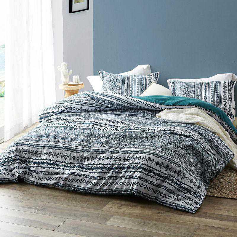 411-COMF-TXL: DormCo Zanzibar Teal - Twin XL Dorm Comforter