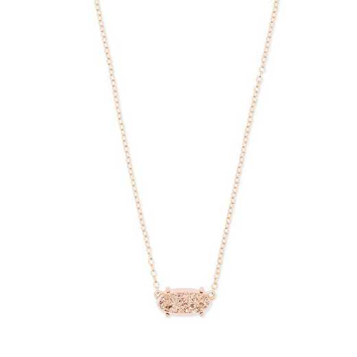 KSCEVERRGROS-NMT: Ever Rose Gold Pendant Necklace in Rose Gold Drusy(2)