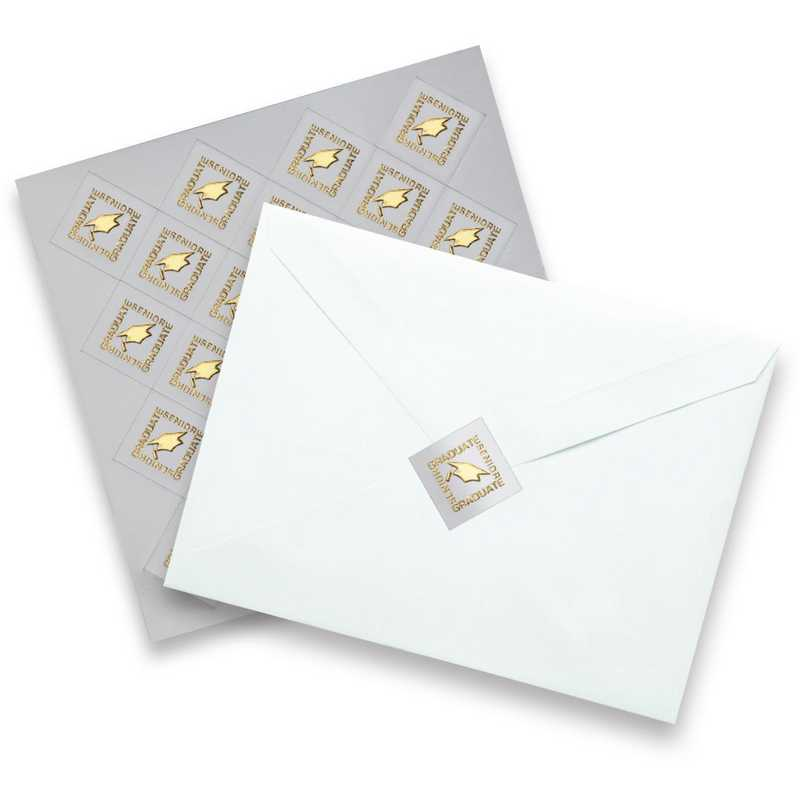 Graduation Envelope Seals (25-Pack)