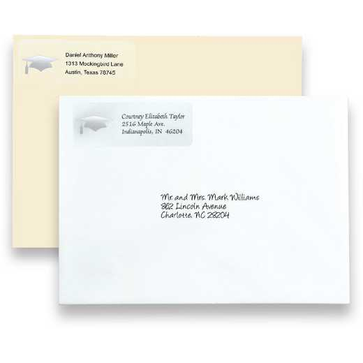 Stationery: Return Address Labels
