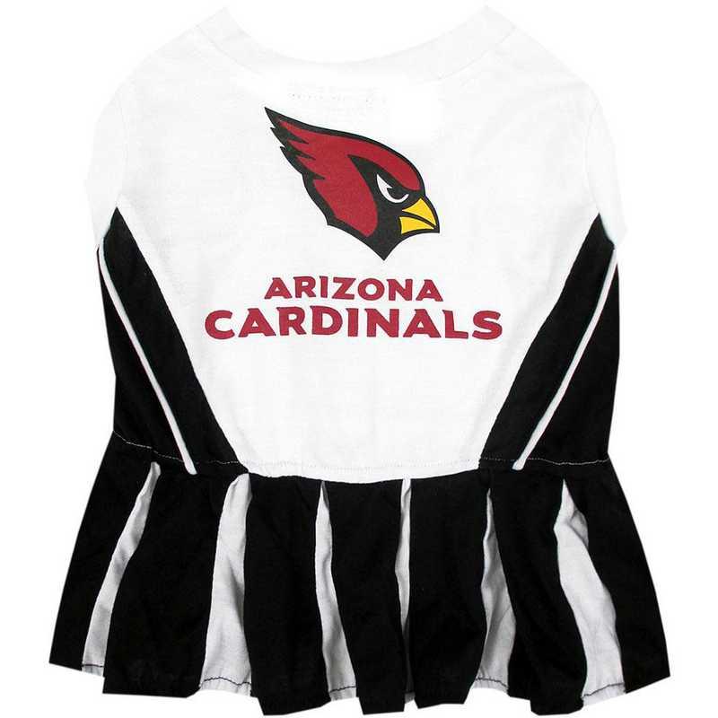 ARZ-4007: ARIZONA CARDINALS Pet Cheerleader Outfit