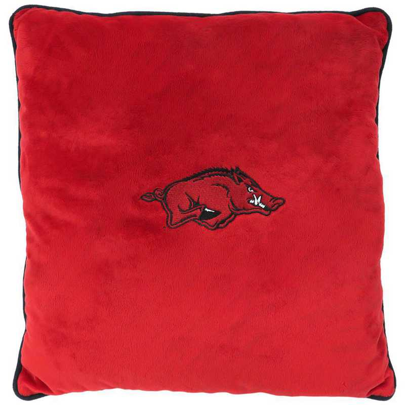 ARK-3195: ARKANSAS RAZORBACKS PILLOW