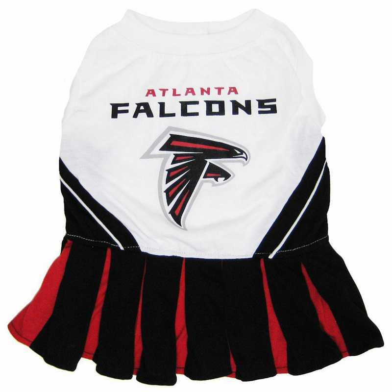 ATL-4007: ATLANTA FALCONS Pet Cheerleader Outfit
