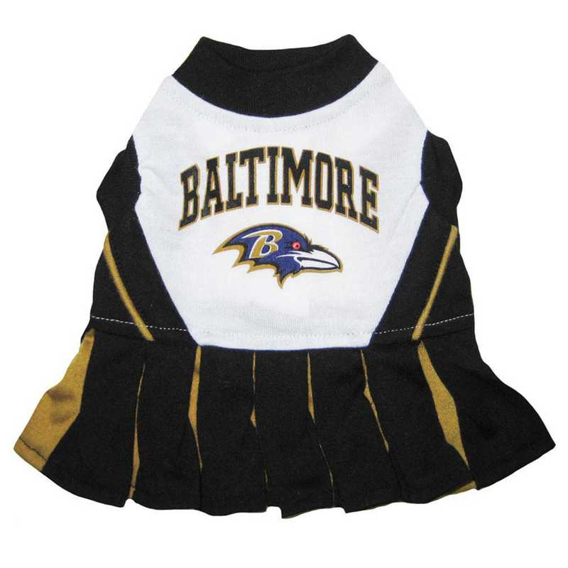 BAL-4007: BALTIMORE RAVENS Pet Cheerleader Outfit