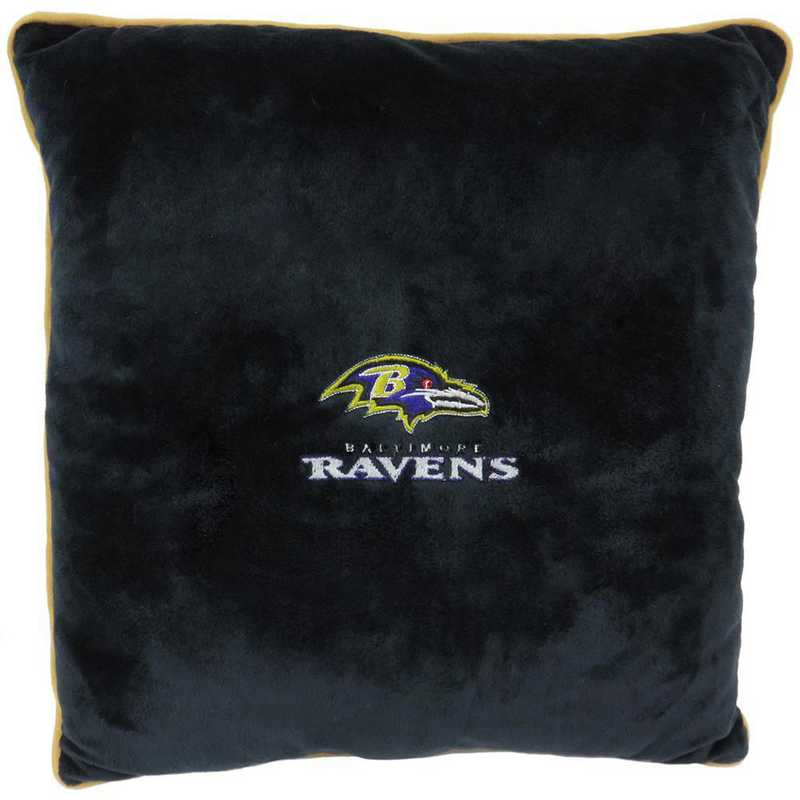BAL-3195: BALTIMORE RAVENS PILLOW