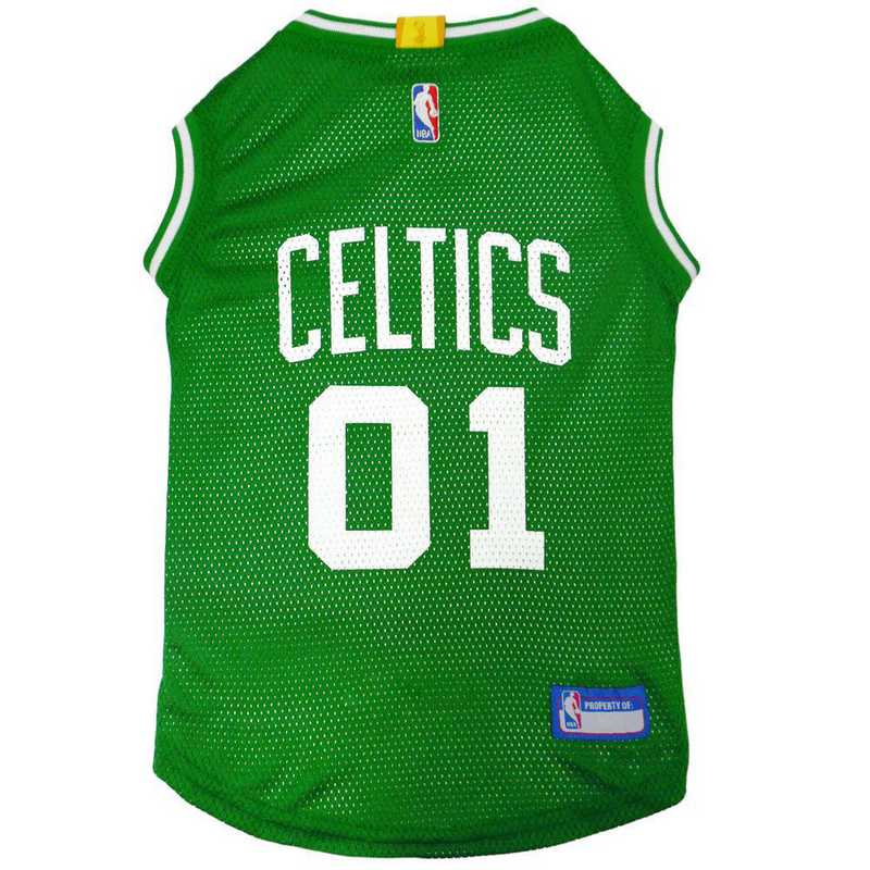 BOSTON CELTICS Mesh Basketball Pet Jersey