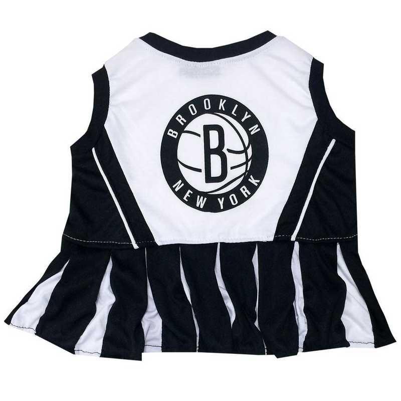 BROOKLYN NETS Pet Cheerleader Outfit