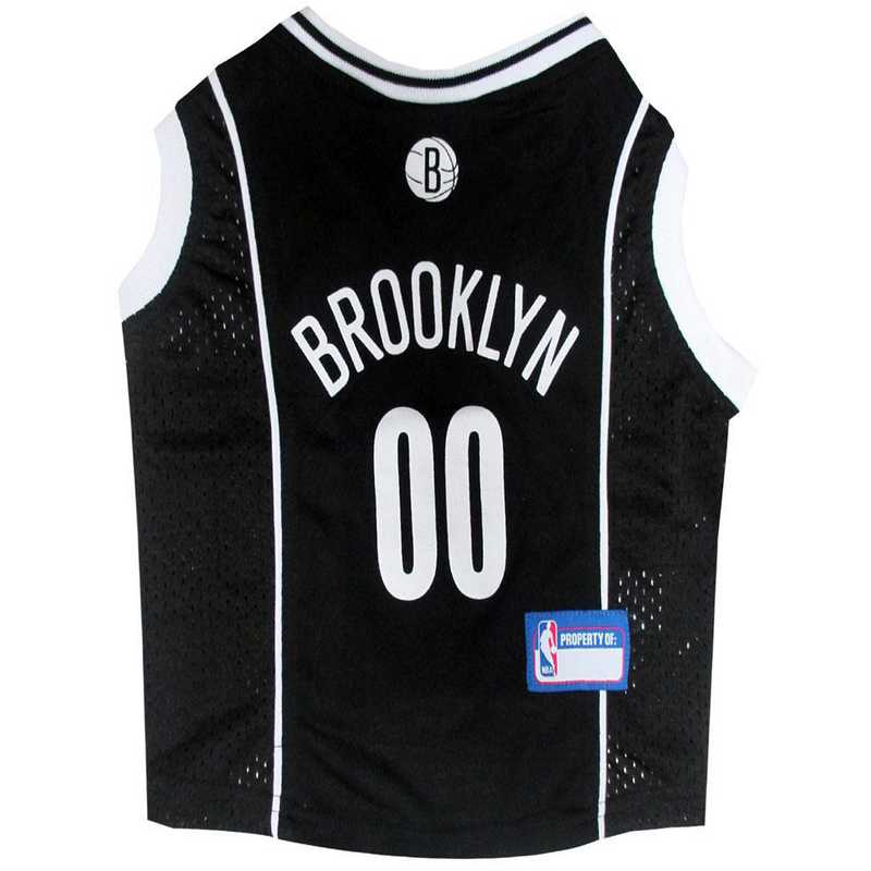 BROOKLYN NETS Mesh Basketball Pet Jersey