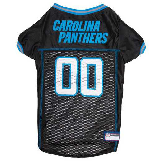 CAR-4006-XL: CAROLINA PANTHERS Mesh Pet Jersey