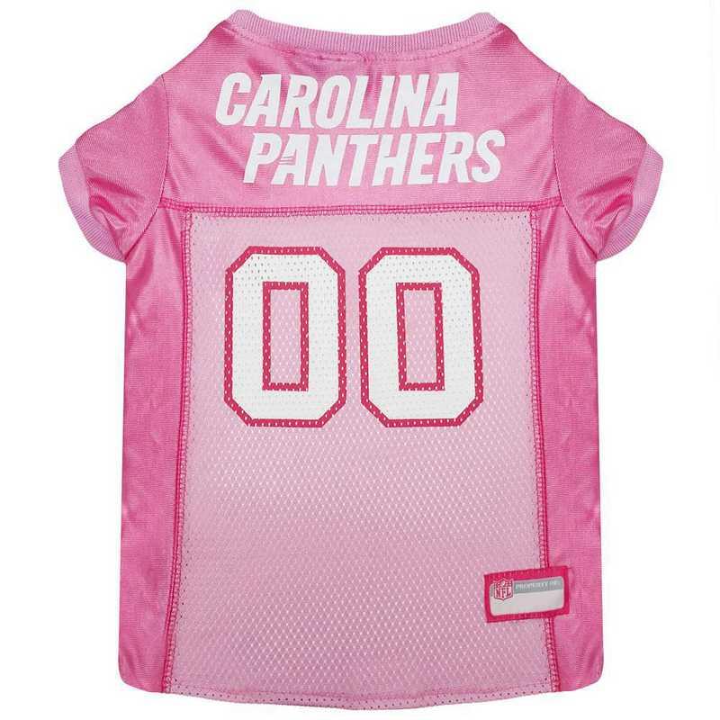 CAROLINA PANTHERS Pink Pet Jersey