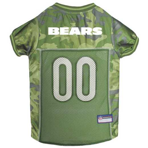 CHI-4060-XL: CHICAGO BEARS CAMO JERSEY