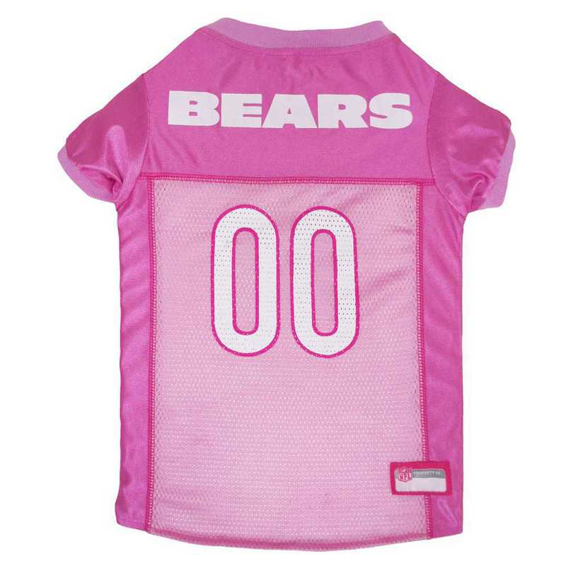 CHICAGO BEARS Pink Pet Jersey
