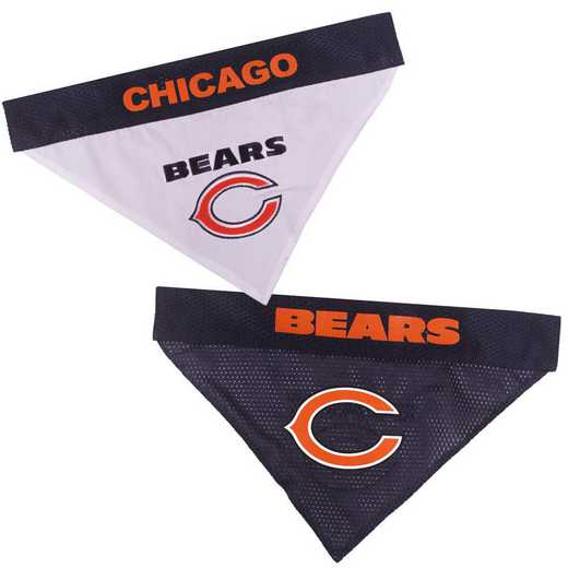 CHICAGO BEARS Reversible Pet Bandana