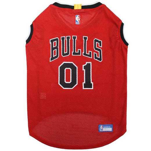 CHICAGO BULLS Mesh Basketball Pet Jersey