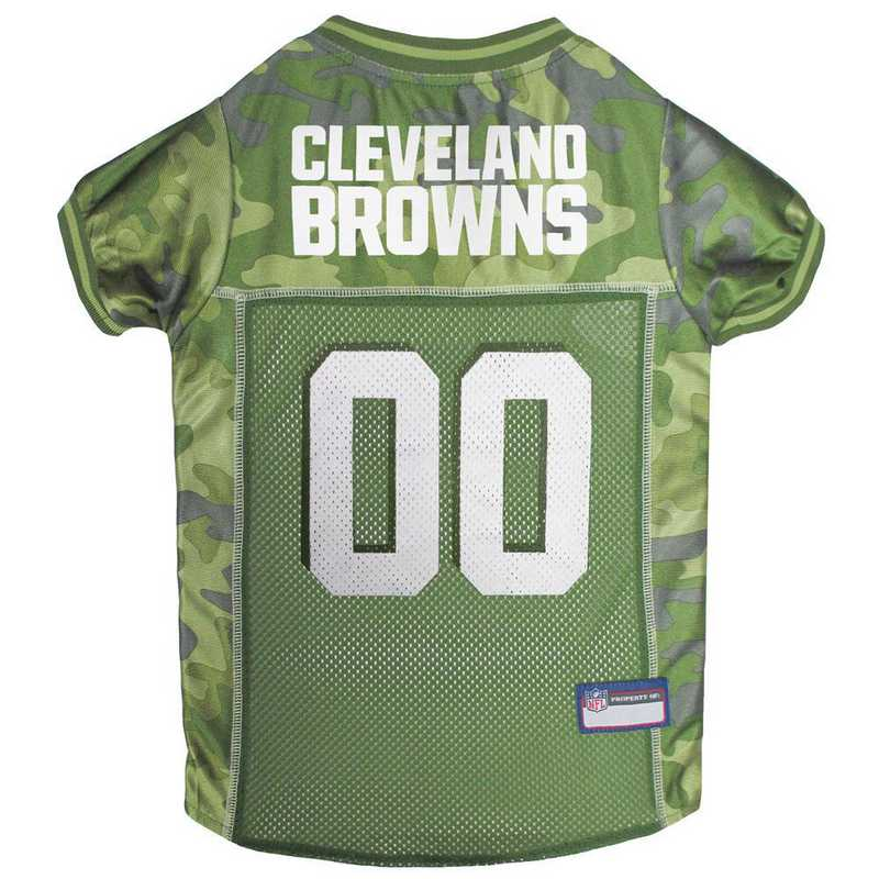 CLE-4060-XL: CLEVELAND BROWNS CAMO JERSEY