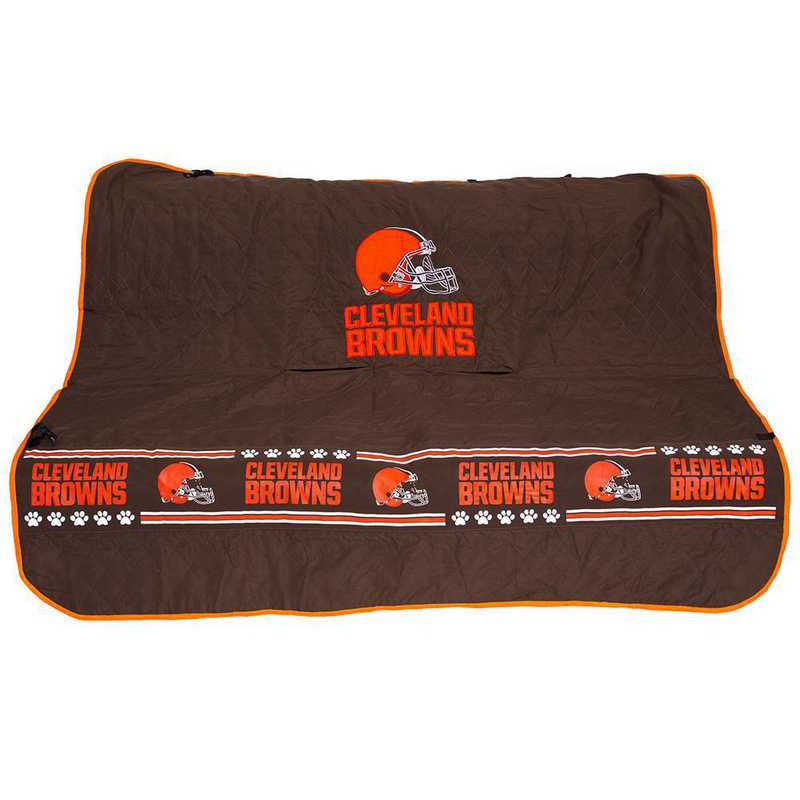 CLE-3177: CLEVELAND BROWNS CAR SEAT COVER