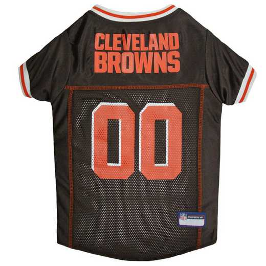 CLE-4006-XL: CLEVELAND BROWNS Mesh Pet Jersey