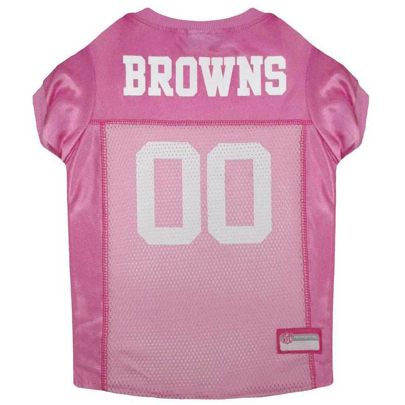 CLEVELAND BROWNS Pink Pet Jersey