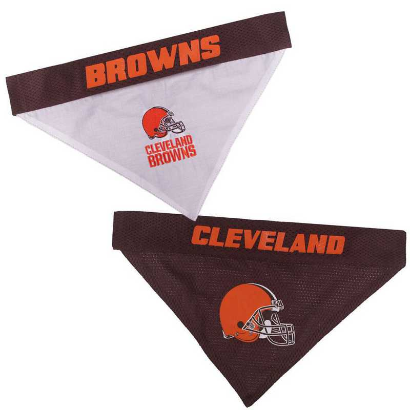 CLE-3217-S-M: CLEVELAND BROWNS REVERSIBLE BANDANA