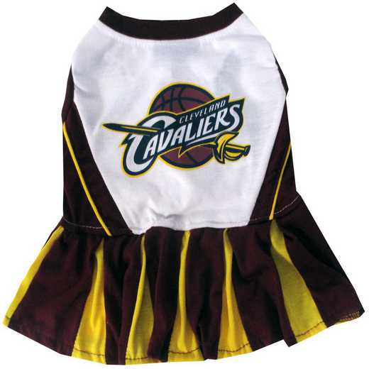 CLEVELAND CAVALIERS Pet Cheerleader Outfit