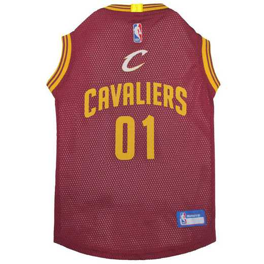 CLEVELAND CAVALIERS Mesh Basketball Pet Jersey