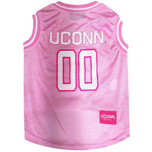 CT-4021-XS: U CONN PINK BASKETBALL JERSEY