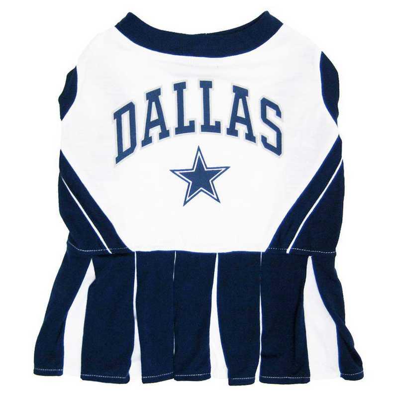 DAL-4007: DALLAS COWBOYS Pet Cheerleader Outfit