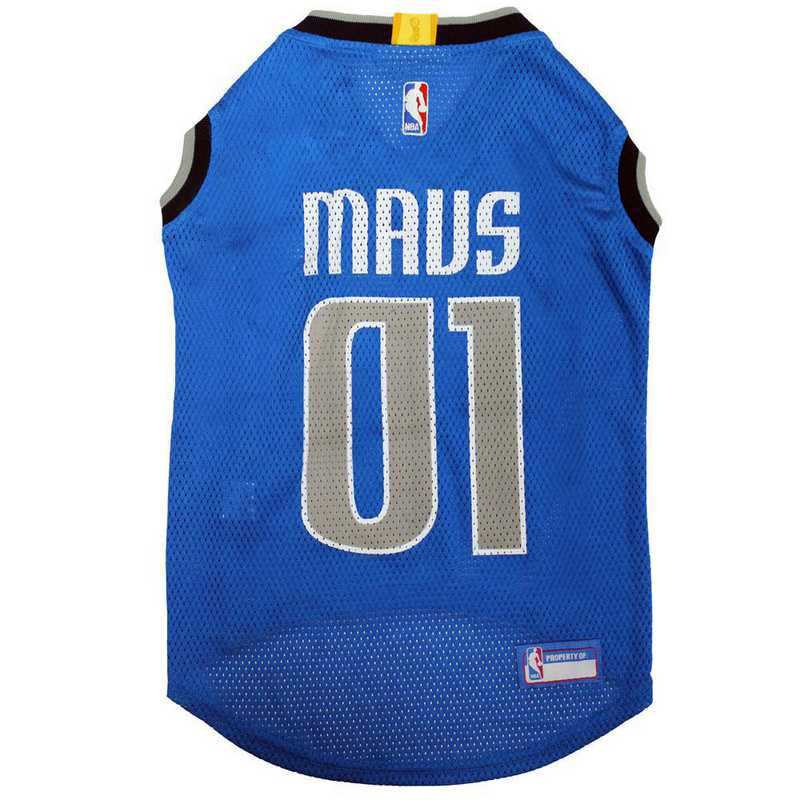 MAV-4047-XL: DALLAS MAVERICKS BASKETBALL Mesh Pet Jersey