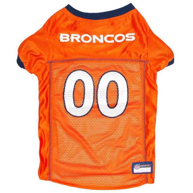 DEN-4006-XL: DENVER BRONCOS Mesh Pet Jersey