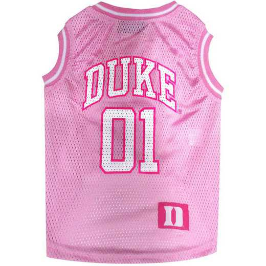 DUKE UNIVERSITY Pink Basketball Pet Jersey