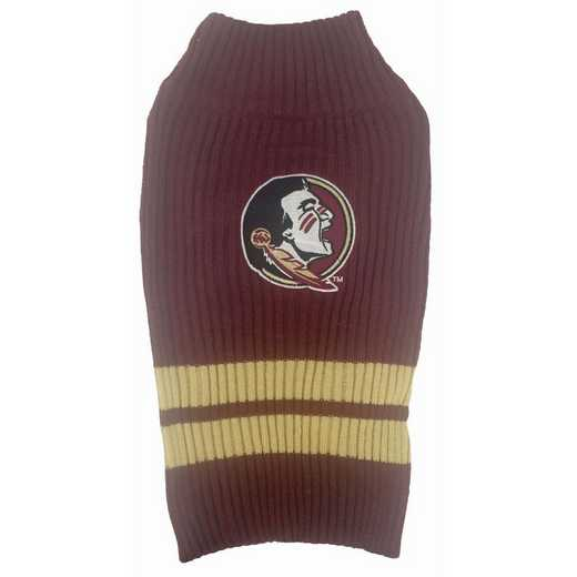 FLORIDA STATE Pet Turtleneck Sweater