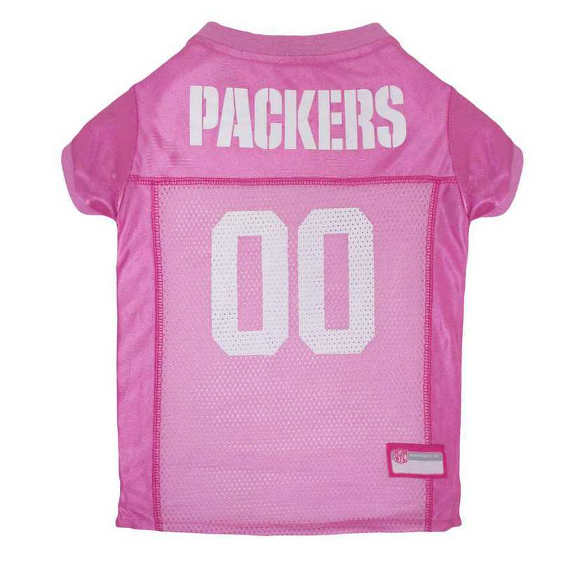 GREEN BAY PACKERS Pink Pet Jersey