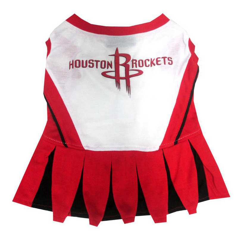 HOUSTON ROCKETS Pet Cheerleader Outfit