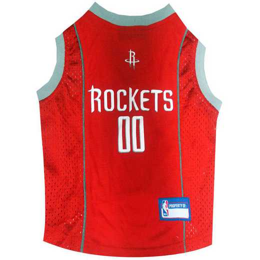 HOUSTON ROCKETS Mesh Basketball Pet Jersey