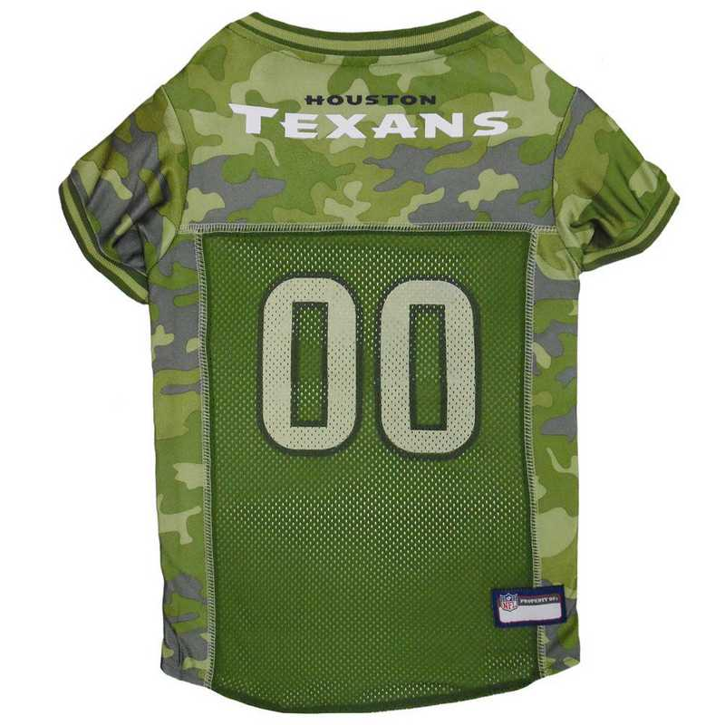 HOU-4060-XL: HOUSTON TEXANS CAMO JERSEY