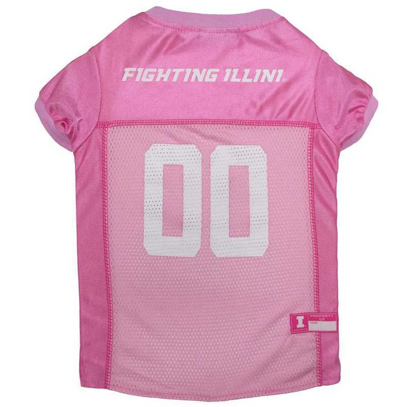 ILLINOIS Pink Pet Jersey