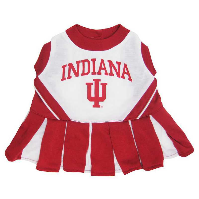 INDIANA Pet Cheerleader Outfit