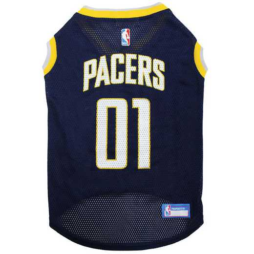 INDIANA PACERS Mesh Basketball Pet Jersey