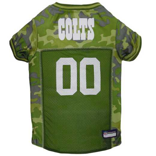 INDIANAPOLIS COLTS Pet Camo Jersey