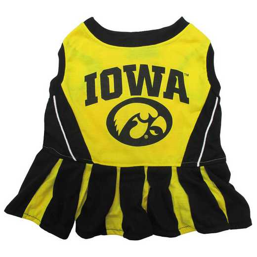 IOWA Pet Cheerleader Outfit