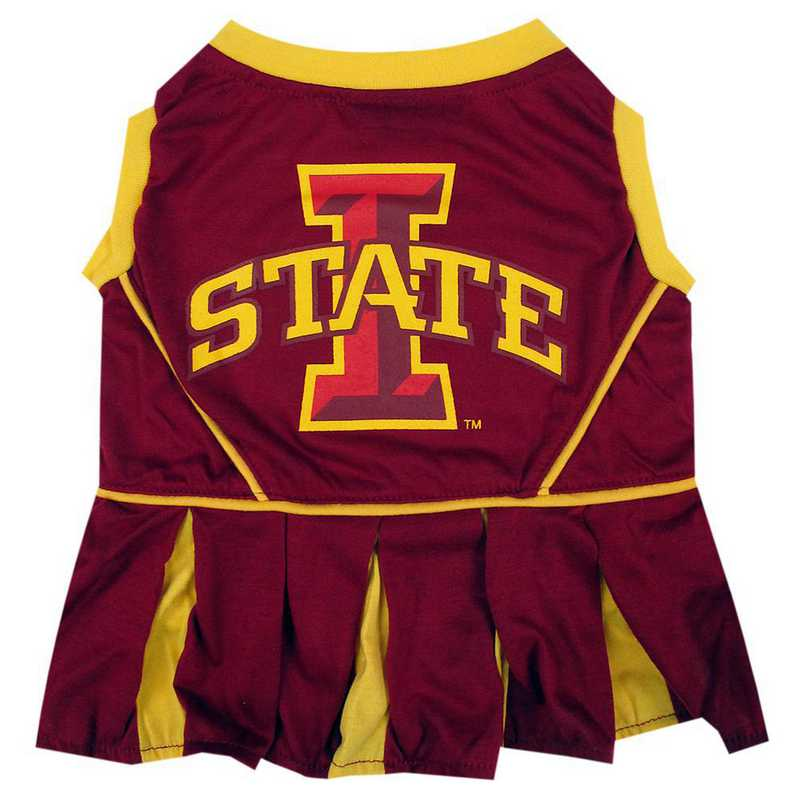 IOWA STATE Pet Cheerleader Outfit