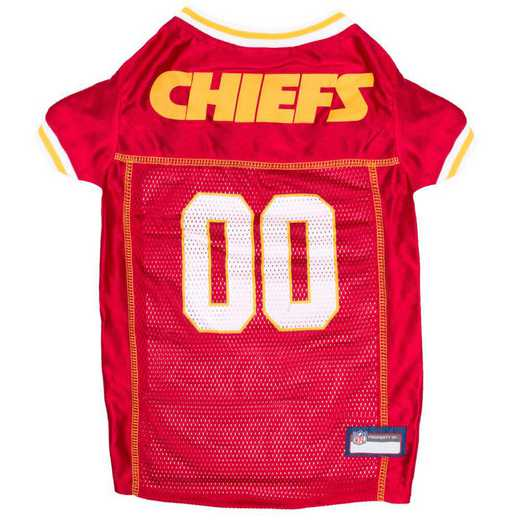 KCC-4006-XL: KANSAS CITY CHIEFS Mesh Pet Jersey
