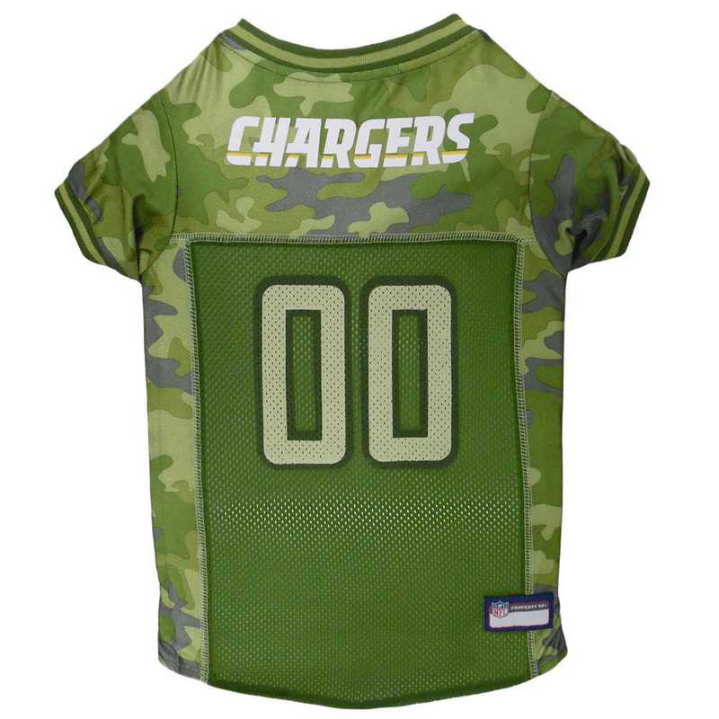 SDC-4060-XL: LOS ANGELES CHARGERS CAMO JERSEY